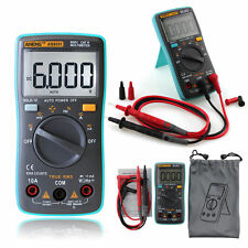 RM101 Digital Multimeter Backlight AC/DC Ammeter Voltmeter Ohm Portable Meter HG