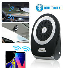 Wireless Bluetooth Handsfree Auto Car Speakerphone Kit Speaker Phone Visor Clip