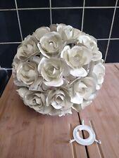 vintage Retro floral ceiling pendant ,floral metal ceiling pendant hand made