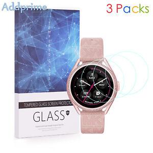 For Michael Kors MKGO Gen 5E 9H Hardness Tempered Glass Screen Protector 3 Packs