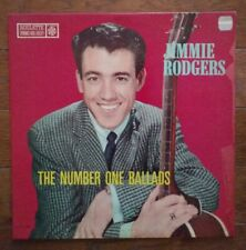 JIMMIE RODGERS Number One Ballads LP orig Roulette Records 25033 MONO vinyl jazz