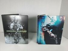 Call of Duty MW2: Hardened Edition & Black Ops Playstation 3 PS Steelbook Game