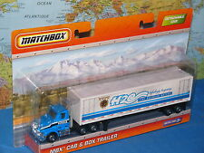MATCHBOX MBX CAB & BOX TRAILER H2O FINE BAVARIAN WATERS DETACHABLE CAB NEW VHTF