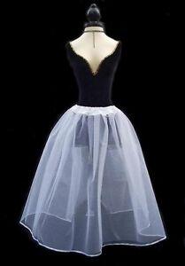 White Net Skirt - Custom Made - Wedding Bridesmaid Prom Party
