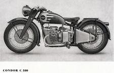 Condor-MOTO-programme-prospectus - 1947-Allemand-NL-Correspondance