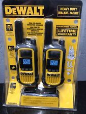 New listing Dewalt Dxfrs800 2 Watt Heavy Duty Walkie Talkies New