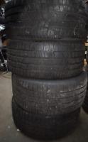 4x Winterreifen Continental 255 40 18 99V M+S XL Winter Reifen 8mm Bj 2014