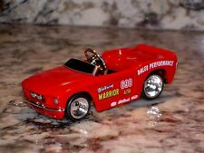 JADA 67 FORD SHELBY GT 500 PEDAL DIE CAST CAR 1/64 1967 RED