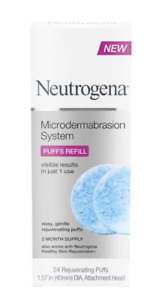 Neutrogena Microdermabrasion System Puff Refills 24ct Exfoliator face scrub