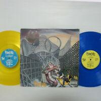 The Pharcyde – Bizarre Ride II 2LP 1992 US ORIG Delicious YELLOW & BLUE VINYL