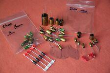 Ampli Akai Am-2400 Kit recapage Nichicon / rebuild / amplifier AM-2600 capacitor