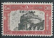 1929 ERITREA MILIZIA 30 CENT MH * - G101