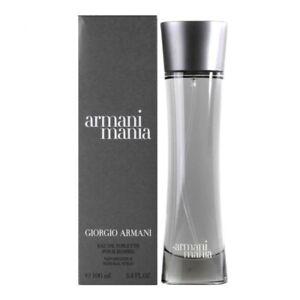 ARMANI MANIA * Giorgio Armani pour Homme * 3.4 oz (100ml) EDT Spray NEW & SEALED