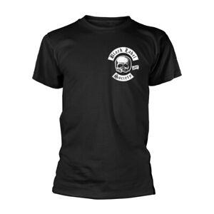 Black Label Society 'Skull Pocket Logo' Black T shirt - NEW