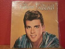 "The Fabulous Fabian 12"" Vinyl Record Album Chancellor CHLX-5005 VG"