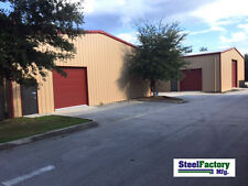 Steel Factory 40x75x16 Metal Frame Ibeam Storage Garage Auto Repair Building