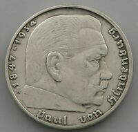 GERMANY 2 MARK  1937 A   #jv 275