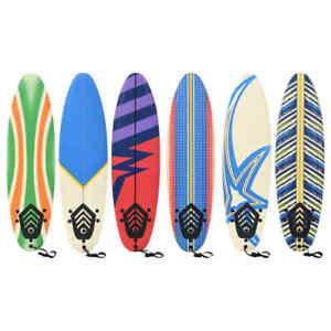 vidaXL Surfboard 170cm Sport Beginner Buoyancy Surfing Board Multi Patterns