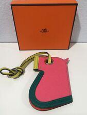 Authentic Hermes Porte Monnate Camail Multicolored Key Holder In Epsom