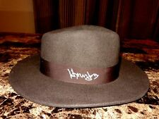 Indiana Jones Rare Harrison Ford Signed Fedora Hat Prop Raiders Of The Lost Ark