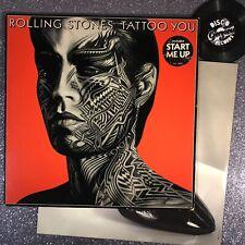 ROLLING STONES - TATTOO YOU 1981 • COC16052 • Vinyl LP +PHOTO INNER •  VG+/EX-
