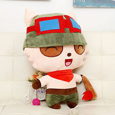 "25cm/10"" League of Legends Teemo Funny Toy Action Figure Stuffed Plush Dolls"