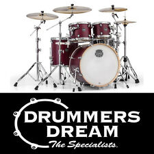 Mapex Armory 5pce Shell Pack Drum Kit Cordovan Red Rock Set up 6 ply Birch/Maple