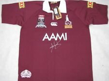 DARREN LOCKYER Hand Signed Qld Origin Jersey