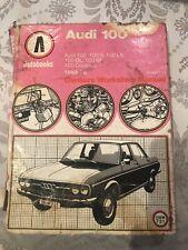 Audi 100 (C1, 1969-1976) workshop manual