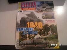 *** Revue Steel Masters HS n°10 1940 campagne à l'ouest sdkfz 223 Renault R 35