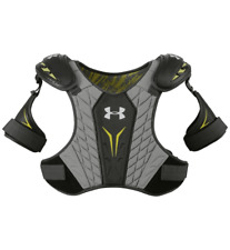 Under Armour Ua Nexgen Lacrosse Lax Shoulder Pads Gray/Grey Xs Protective Gear