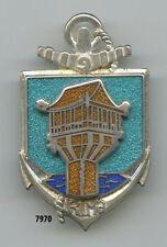 Insignetroupe de marine , 9  RIMA. / GUYANE  , ( relief & translucide )