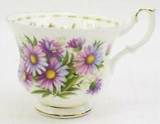 Royal Albert Flower of the Month September Michaelmas Daisy Tea Cup only 1970