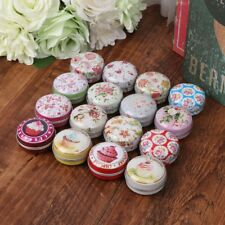 1PC Mini Small Tinplate Storage Box Wedding Candy Box Gift Box Jewelry Container