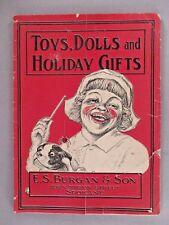 E.S. Burgan CATALOG - Christmas, circa 1905 ~~ toys, toy, dolls, Spokane