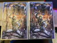 1 MIGHTY MORPHIN POWER RANGERS 40 CLAYTON CRAIN VIRGIN EXCLUSIVE VARIANT LTD 300
