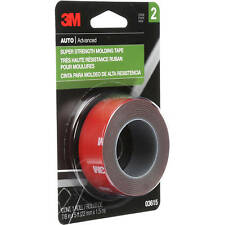 "3M 03615 Super Strenght  Moulding Tape (7/8"" x 5')"
