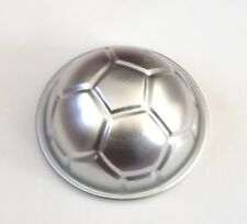 New! Soccer Ball Aluminium Cake Cupcake Mold Pan Sport Decorating Jello Baking