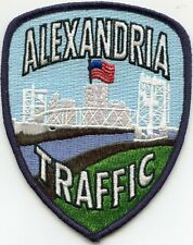 ALEXANDRIA LOUISIANA Traffic Enforcement POLICE PATCH