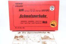 "Bemo H0m - 7221830 - Zug Set ""Spreewaldbahn"" Dampflok BR99 5704  in OVP"