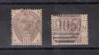 GB QV 1884 1 1/2d/2d Lilac SG188/189 Fine Used JK1238