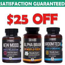 Onnit Labs Alpha Brain Supplement for Memory and Mental Clarity - 90 Capsules
