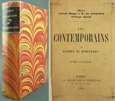 MIRECOURT - LES CONTEMPORAINS : MERY HUGO GIRARDIN GEORGE SAND - ED. RORET
