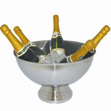 Vasque à Champagne ( grand seau à champagne ) - Inox - 39,5 x 25 cm