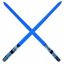 Inflable Star Wars Prop Sable de Luz 💙 Light Stick, Jedi Darth Vader 100 Cm Azul