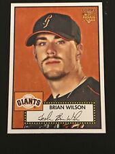 2006 TOPPS 52 RC #87 BRIAN WILSON GIANTS ROOKIE CARD