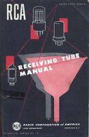 RCA RECEIVING TUBE MANUAL RC-16 1950 PDF