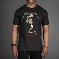 Praying Skeleton Skull Yeezus God Wants You Tour T-shirt Kanye + FREE STICKERS