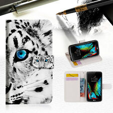 Leopard Wallet Case Cover For ZTE AXON mini -- A013