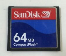 NOT Gb 47003 COMPACT FLASH MEMORY CARD BLISTER PACKED SEALED VERBATIM 64 Mb